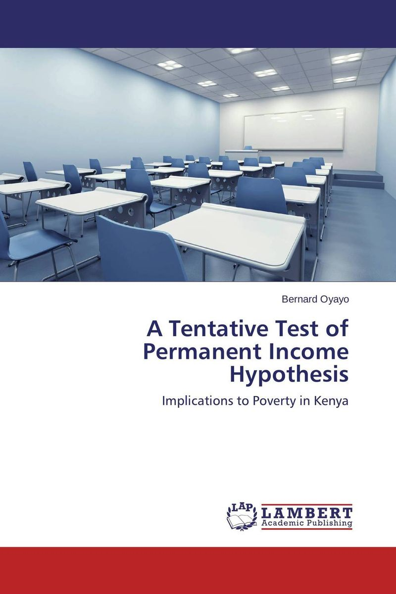 A Tentative Test of Permanent Income Hypothesis