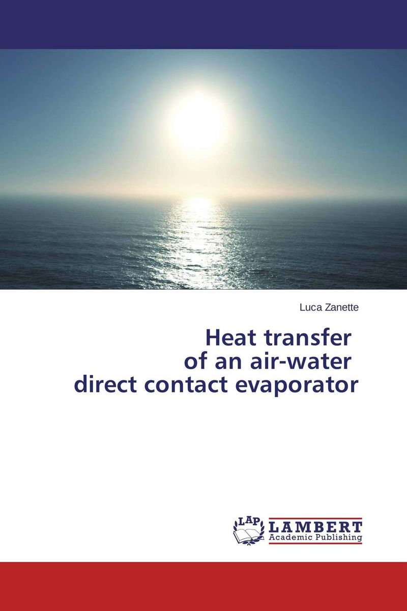 Heat transfer of an air-water direct contact evaporator купить