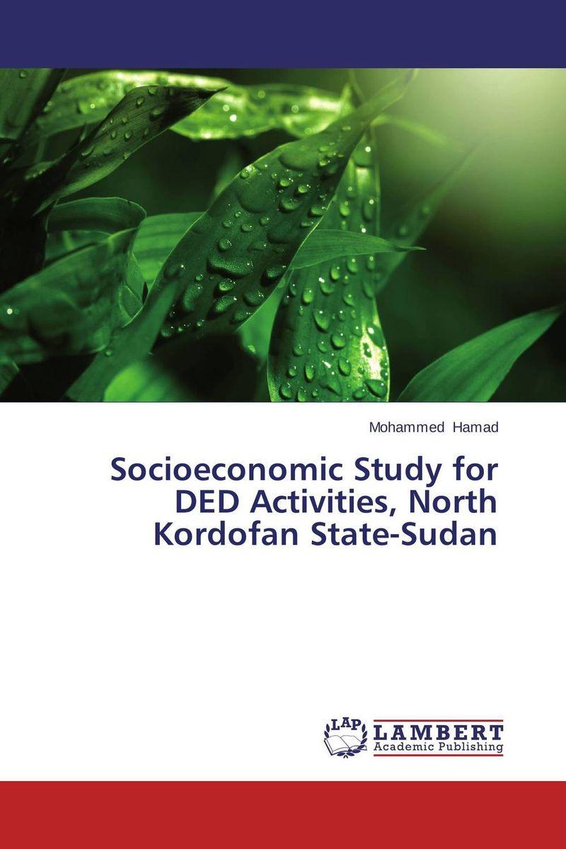 Socioeconomic Study for DED Activities, North Kordofan State-Sudan adel el sonbati moustafa diab and ashraf el bindary thermal degrdation of modified chitosan
