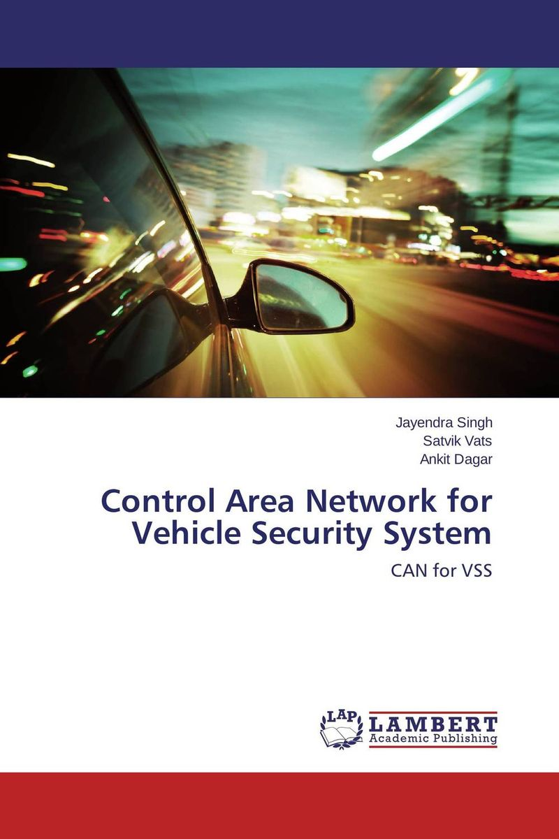 Control Area Network for Vehicle Security System