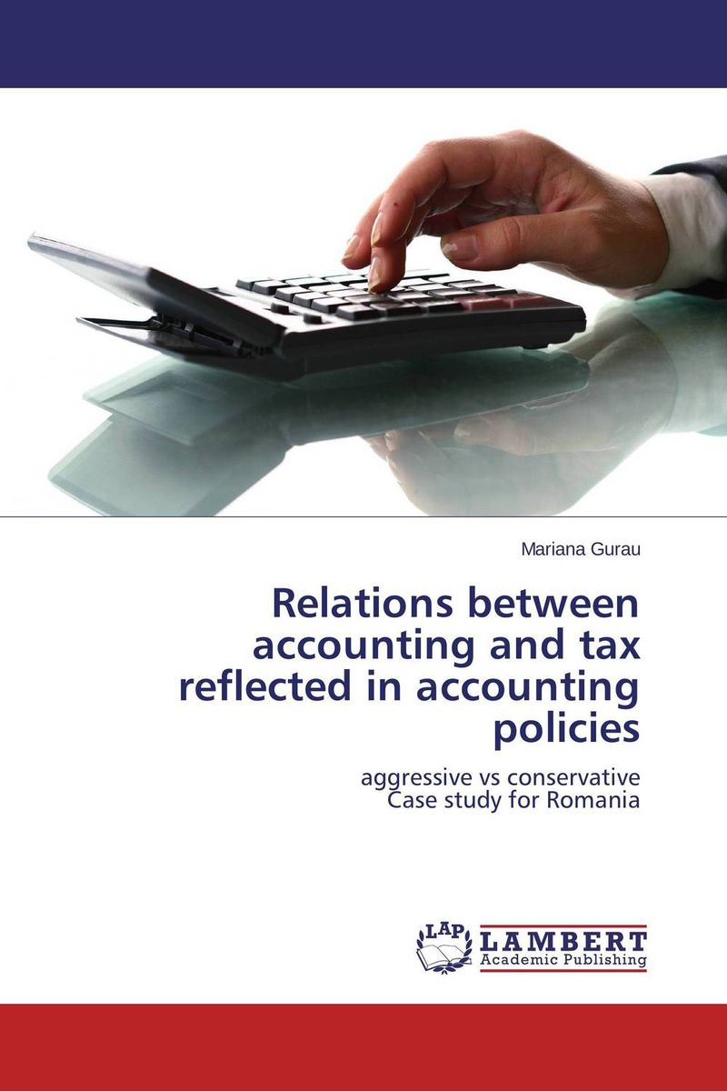 Relations between accounting and tax reflected in accounting policies