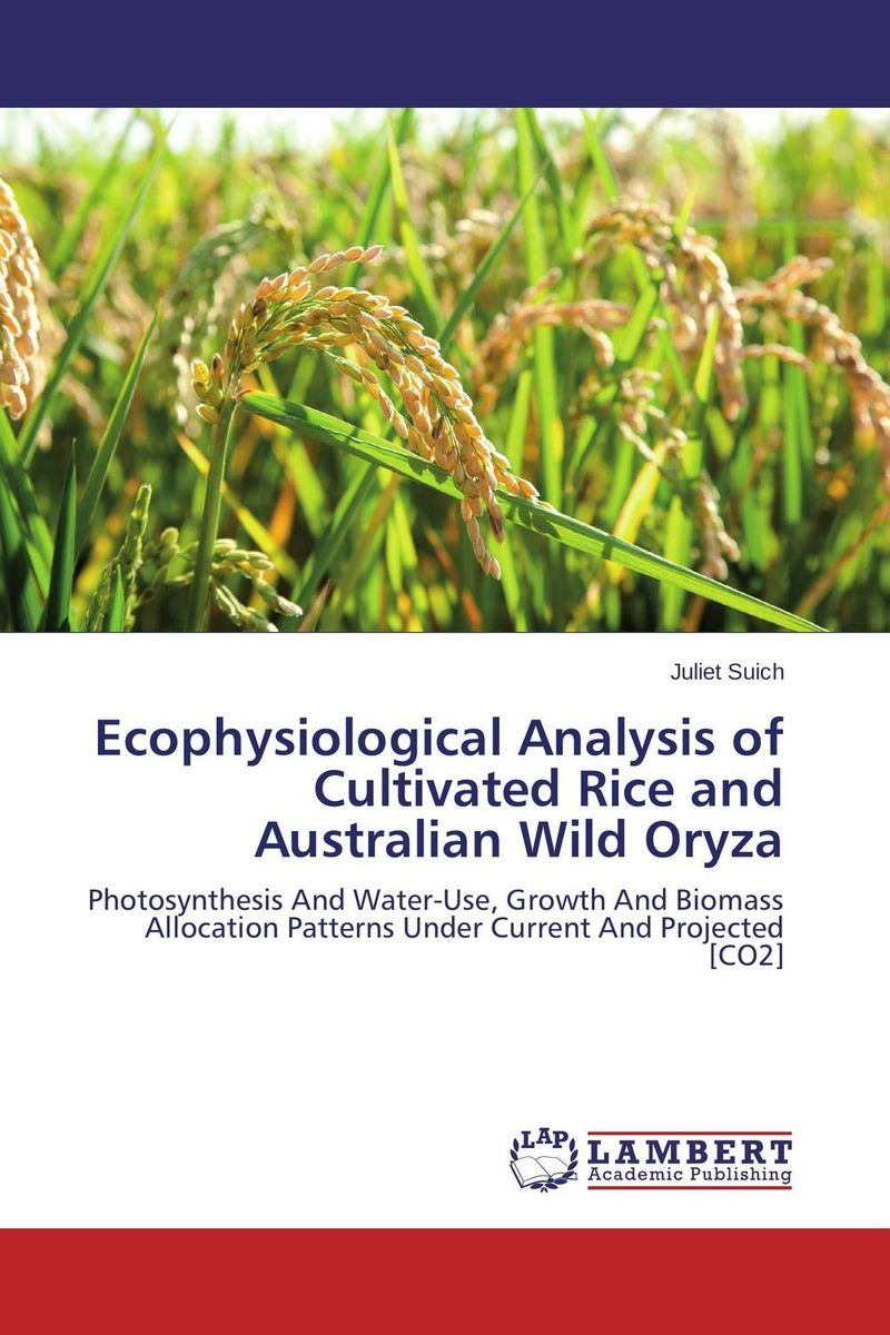 Ecophysiological Analysis of Cultivated Rice and Australian Wild Oryza morgan rice a quest of heroes