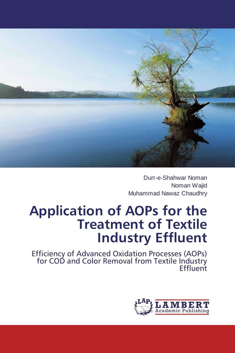 Application of AOPs for the Treatment of Textile Industry Effluent m b fenton communication in chiroptera