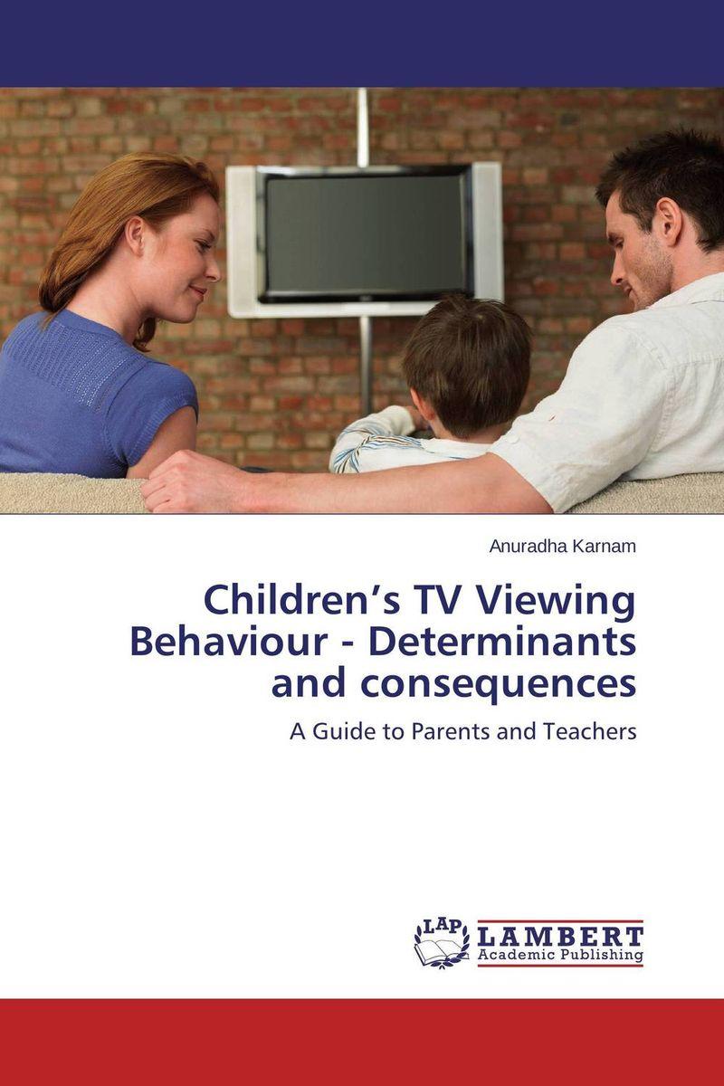 Children's TV Viewing Behaviour  - Determinants    and consequences children's literature in rwanda