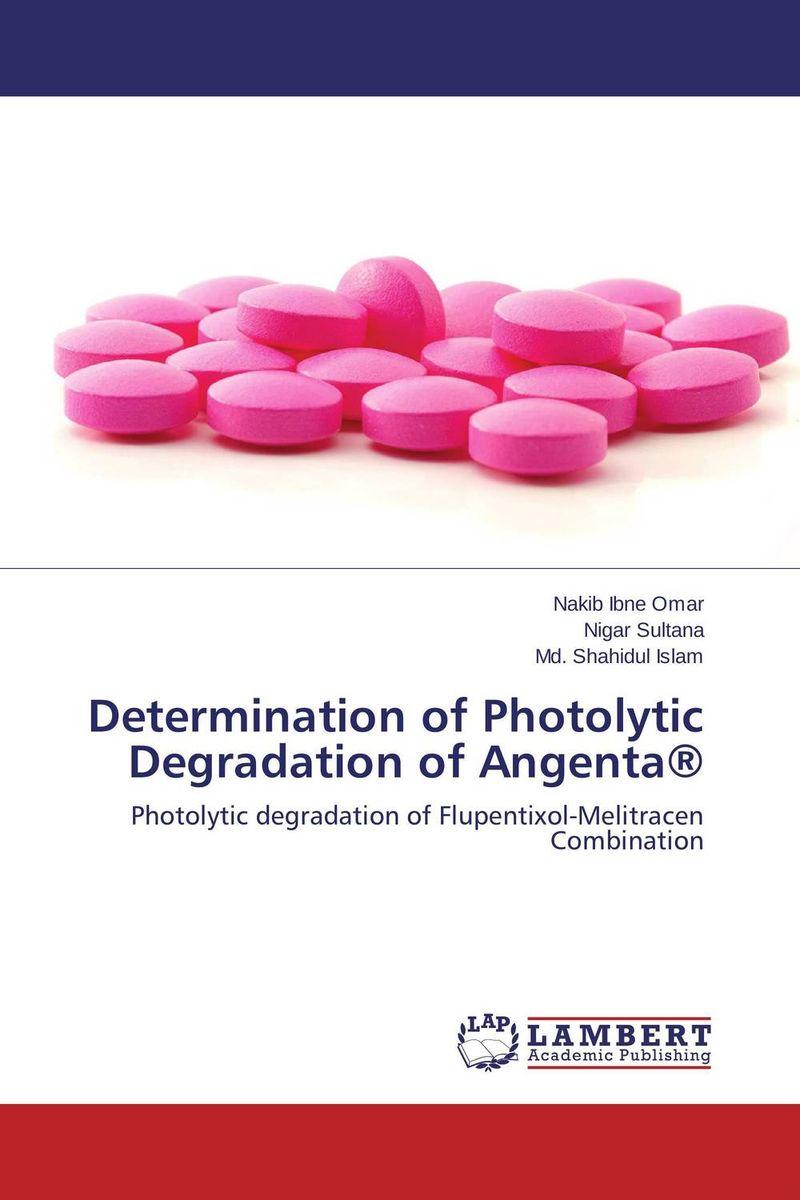 Determination of Photolytic Degradation of Angenta® pharmaceuticals