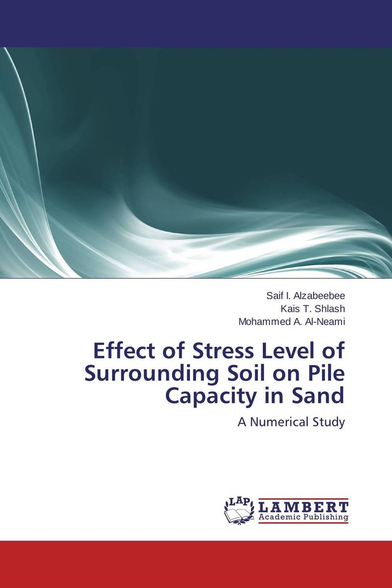 Effect of Stress Level of Surrounding Soil on Pile Capacity in Sand evaluation of pile failure mechanism by piv method