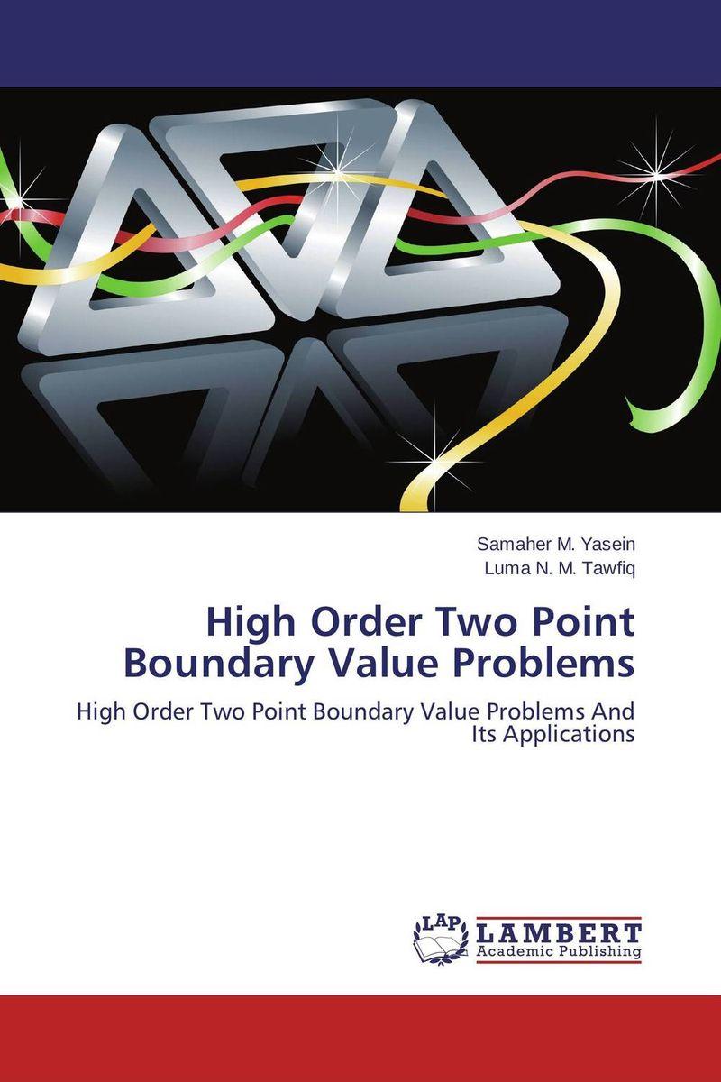 купить High Order Two Point Boundary Value Problems недорого