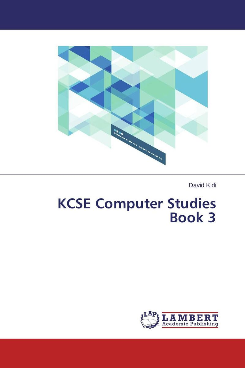 KCSE Computer Studies Book 3