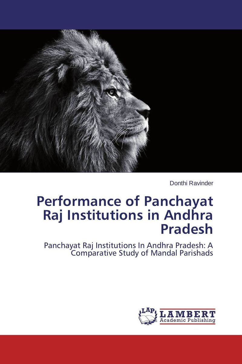 Performance of Panchayat Raj Institutions in Andhra Pradesh  sagar raj mahat and rajendra dhakal performance analysis of df relay with keyhole and correlation effects