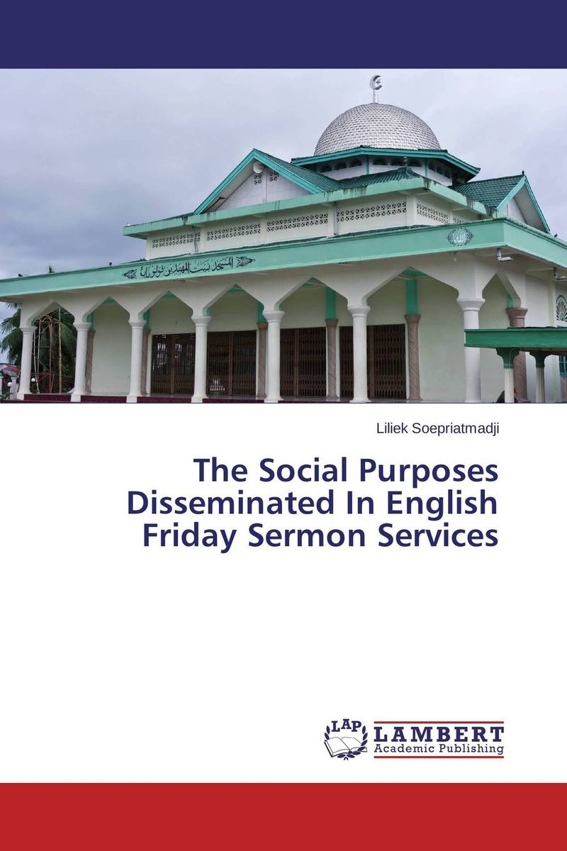 The Social Purposes Disseminated In English Friday Sermon Services the stylistic identity of english literary texts