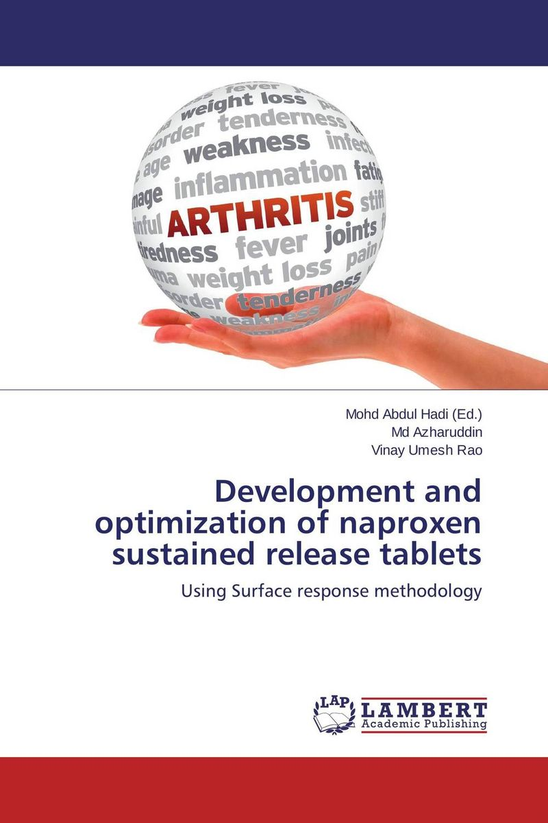 Development and optimization of naproxen sustained release tablets the release