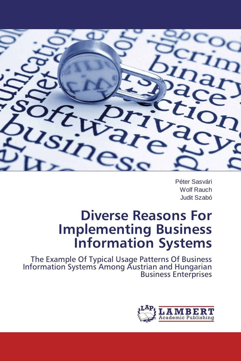 Diverse Reasons For Implementing Business Information Systems robert hillard information driven business how to manage data and information for maximum advantage