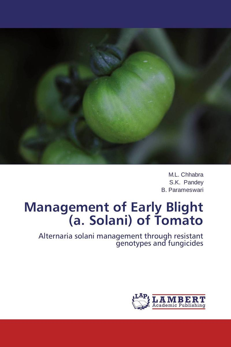 Management of Early Blight (a. Solani) of Tomato fungicidal management of sheath blight of rice
