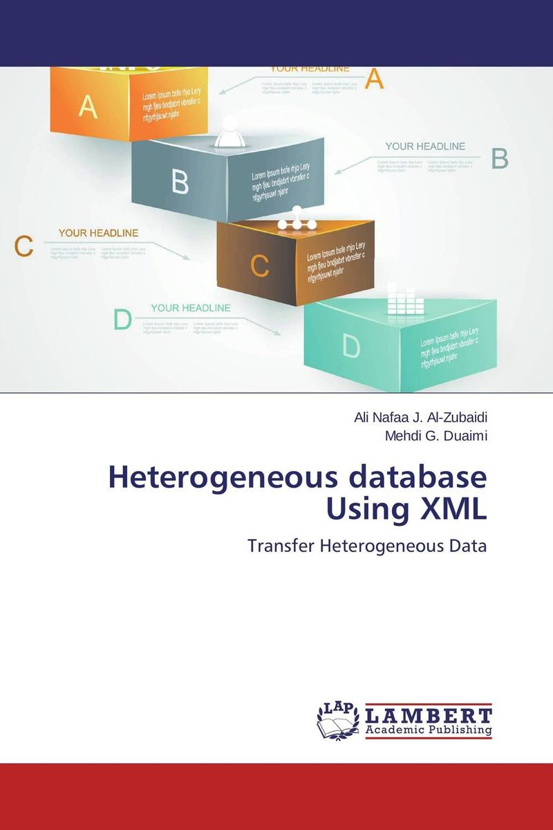 Heterogeneous database Using XML correspondence between the attributes of heterogeneous datasets