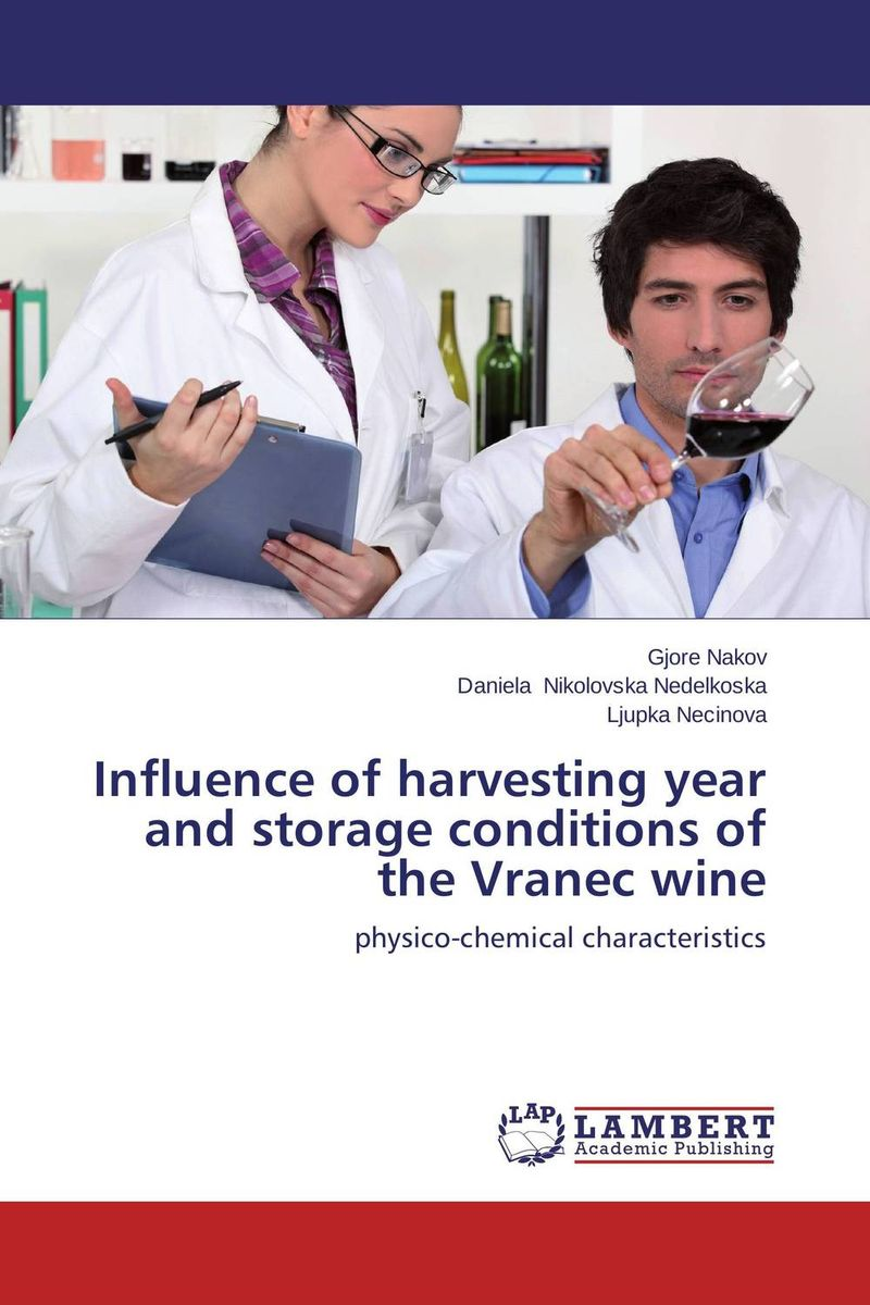 Influence of harvesting year and storage conditions of the Vranec wine