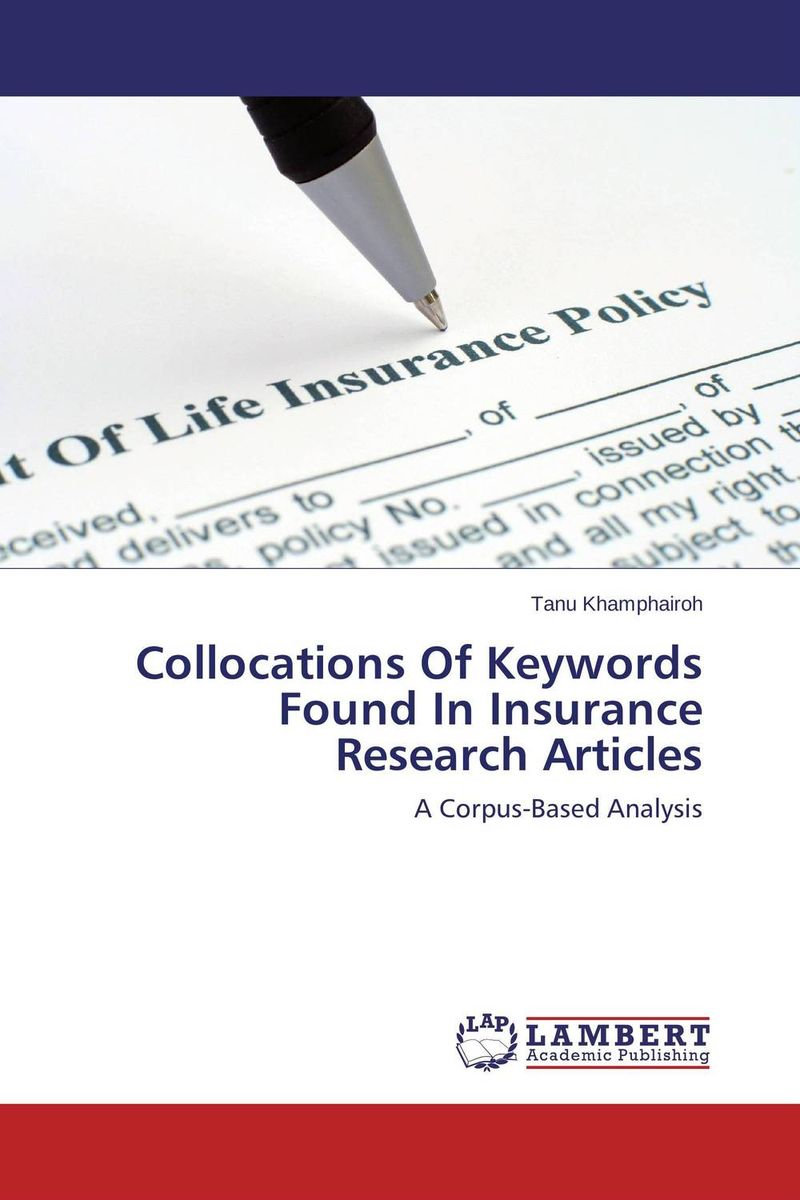 Collocations Of Keywords Found In Insurance Research Articles found in brooklyn
