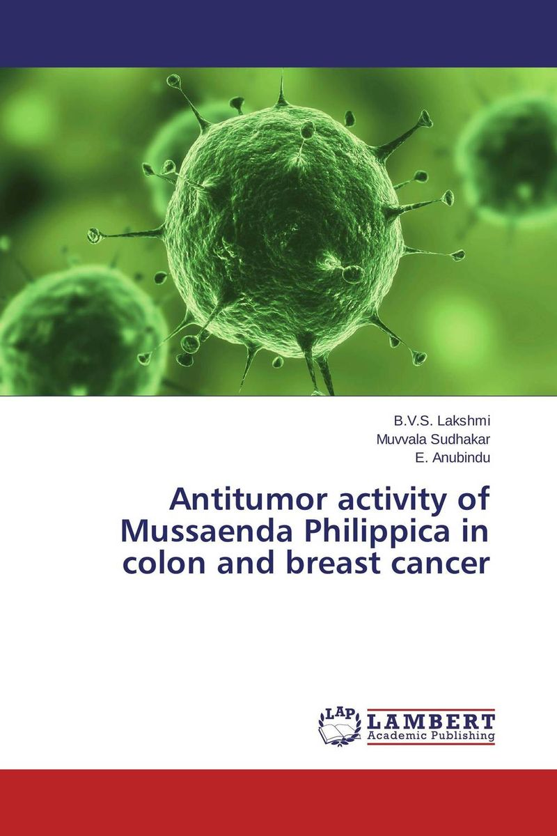 Antitumor activity of Mussaenda Philippica in colon and breast cancer arvinder pal singh batra jeewandeep kaur and anil kumar pandey factors associated with breast cancer in amritsar region