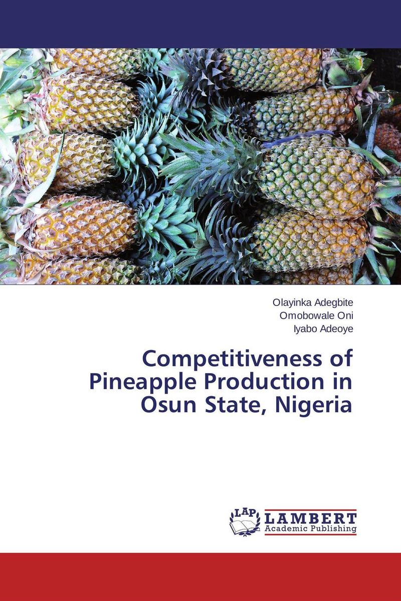 цена на Competitiveness of Pineapple Production in Osun State, Nigeria