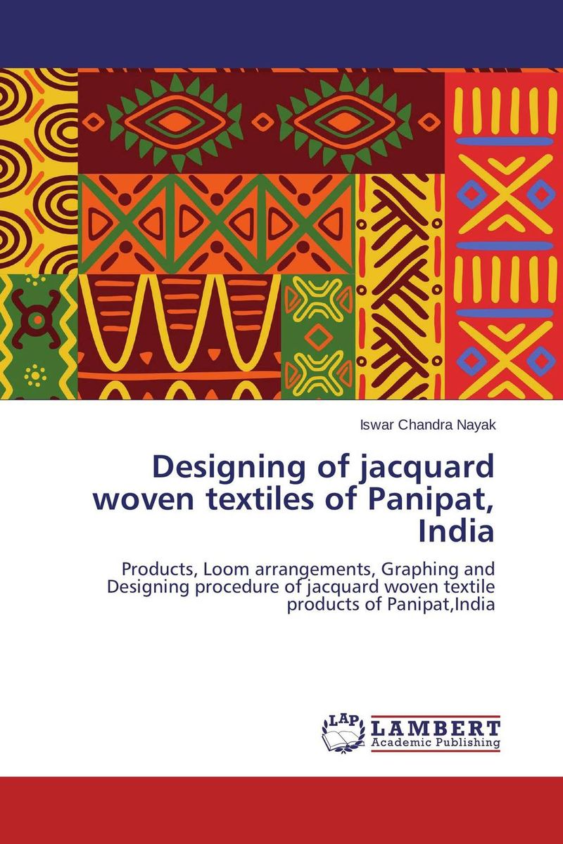 Designing of jacquard woven textiles of Panipat, India natural dyes for textiles