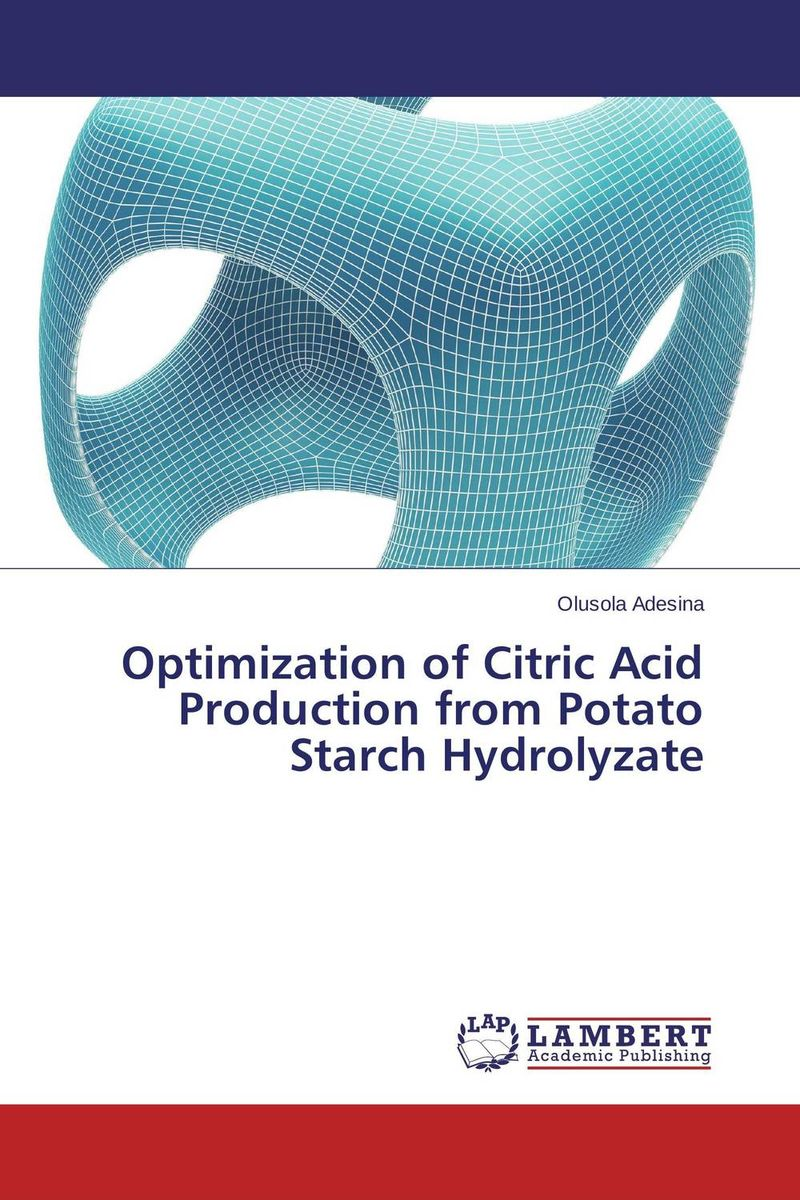 Optimization of Citric Acid Production from Potato Starch Hydrolyzate electrolytic conductance of citric acid
