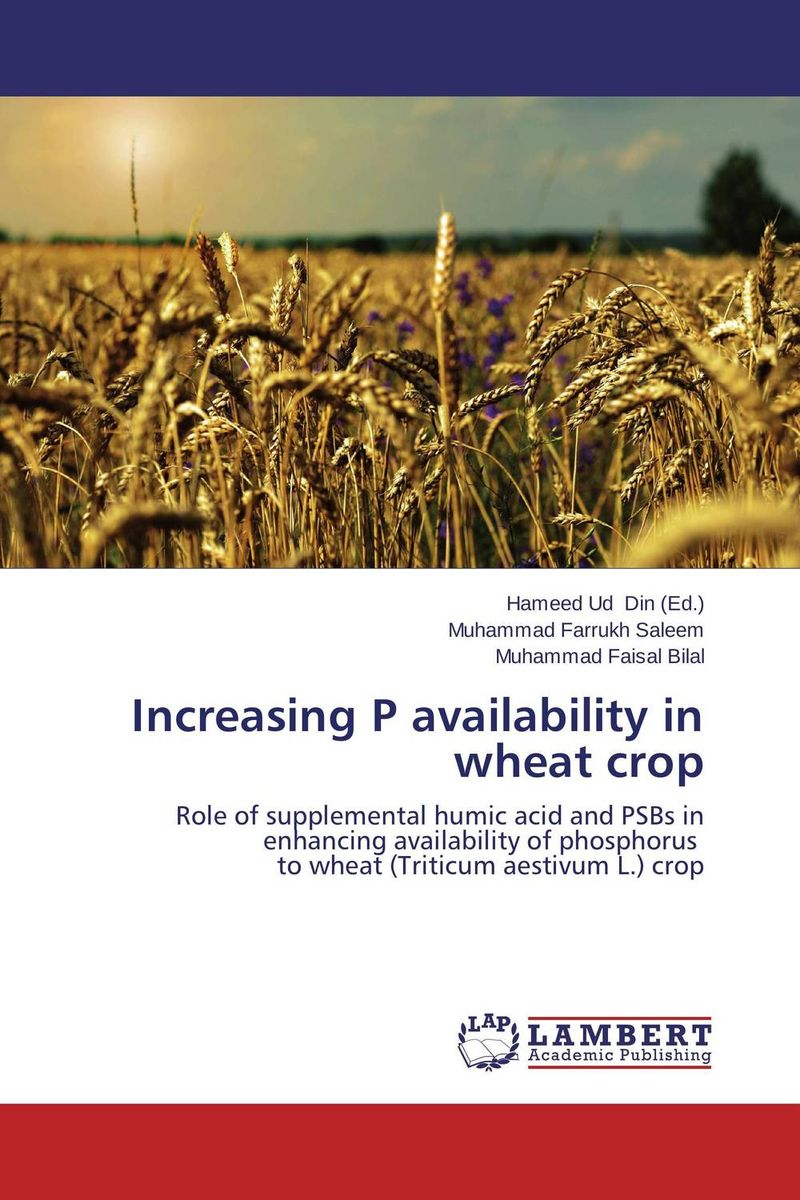 Increasing P availability in wheat crop narinder kumar sharma h p singh and j s samra poplar and wheat agroforestry system
