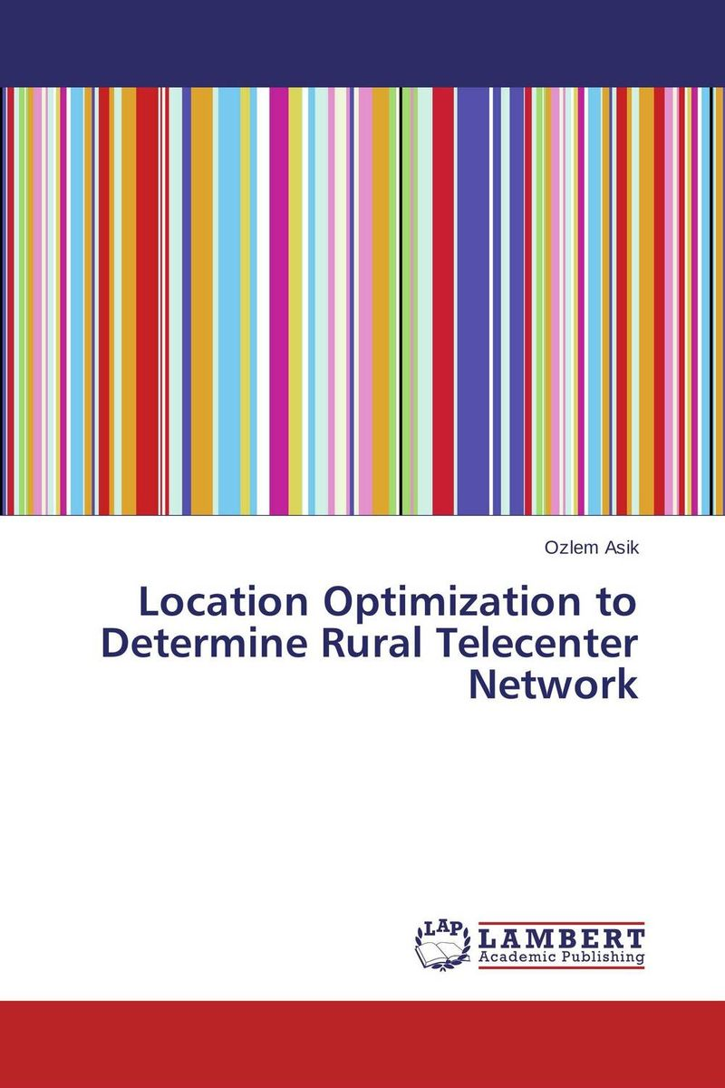 Location Optimization to Determine Rural Telecenter Network edge finder in order to accurately determine the location of the center of a detection tool workpiece touch point sensor for cnc
