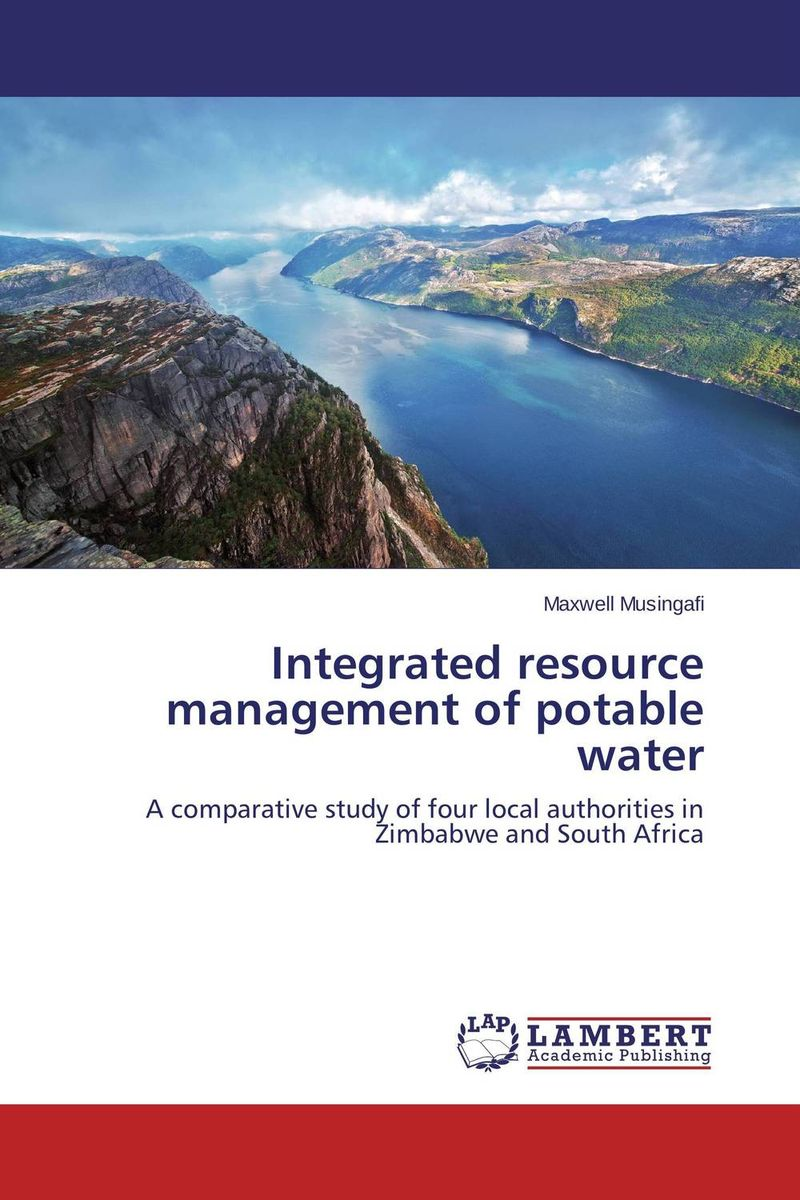 Integrated resource management of potable water цена