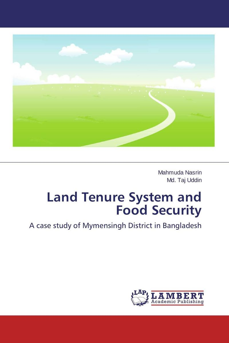 Land Tenure System and Food Security land tenure housing and low income earners