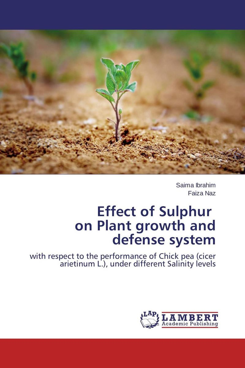 Effect of Sulphur   on Plant growth and defense system nify benny and c h sujatha enrichment of sulphur compounds in the cochin estuarine system