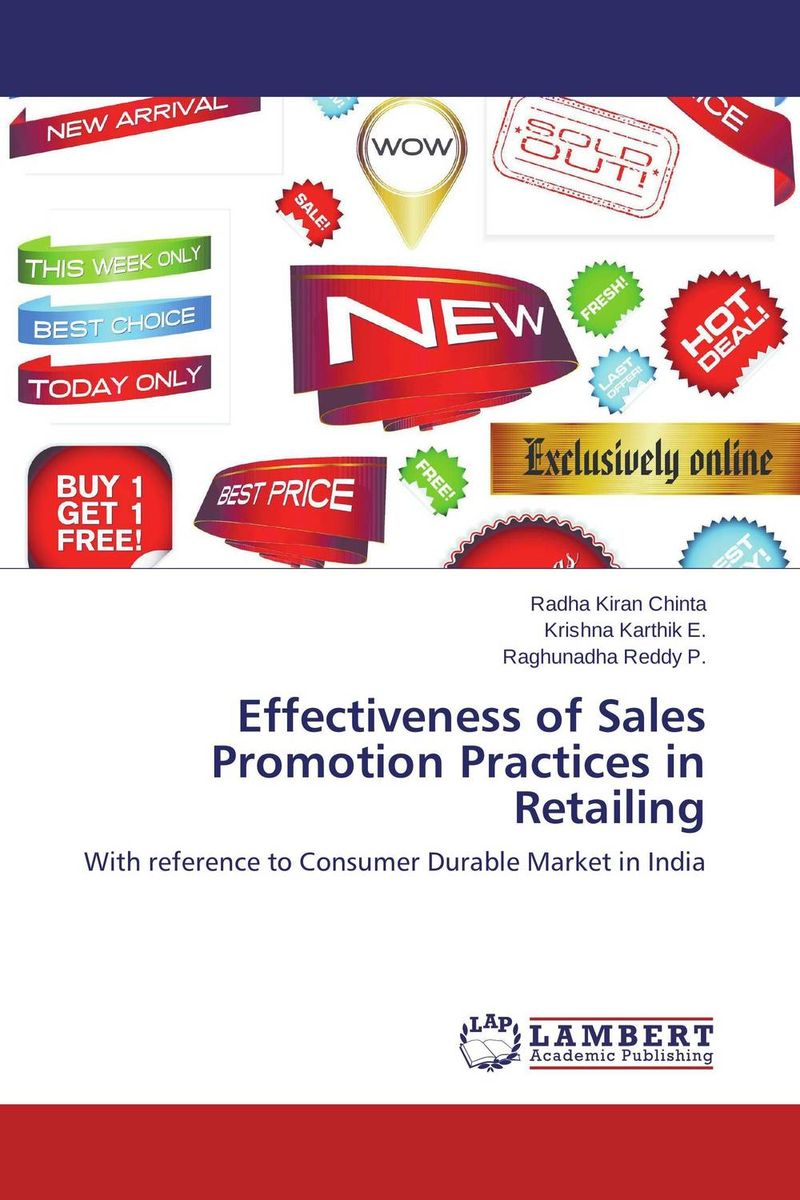 где купить  Effectiveness of  Sales Promotion Practices  in Retailing  по лучшей цене