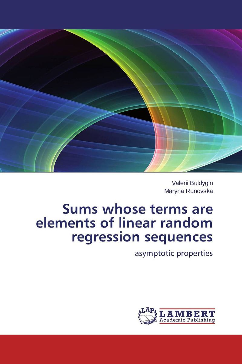 Sums whose terms are elements of linear random regression sequences j r whiteman the mathematics of finite elements and applications x mafelap 1999
