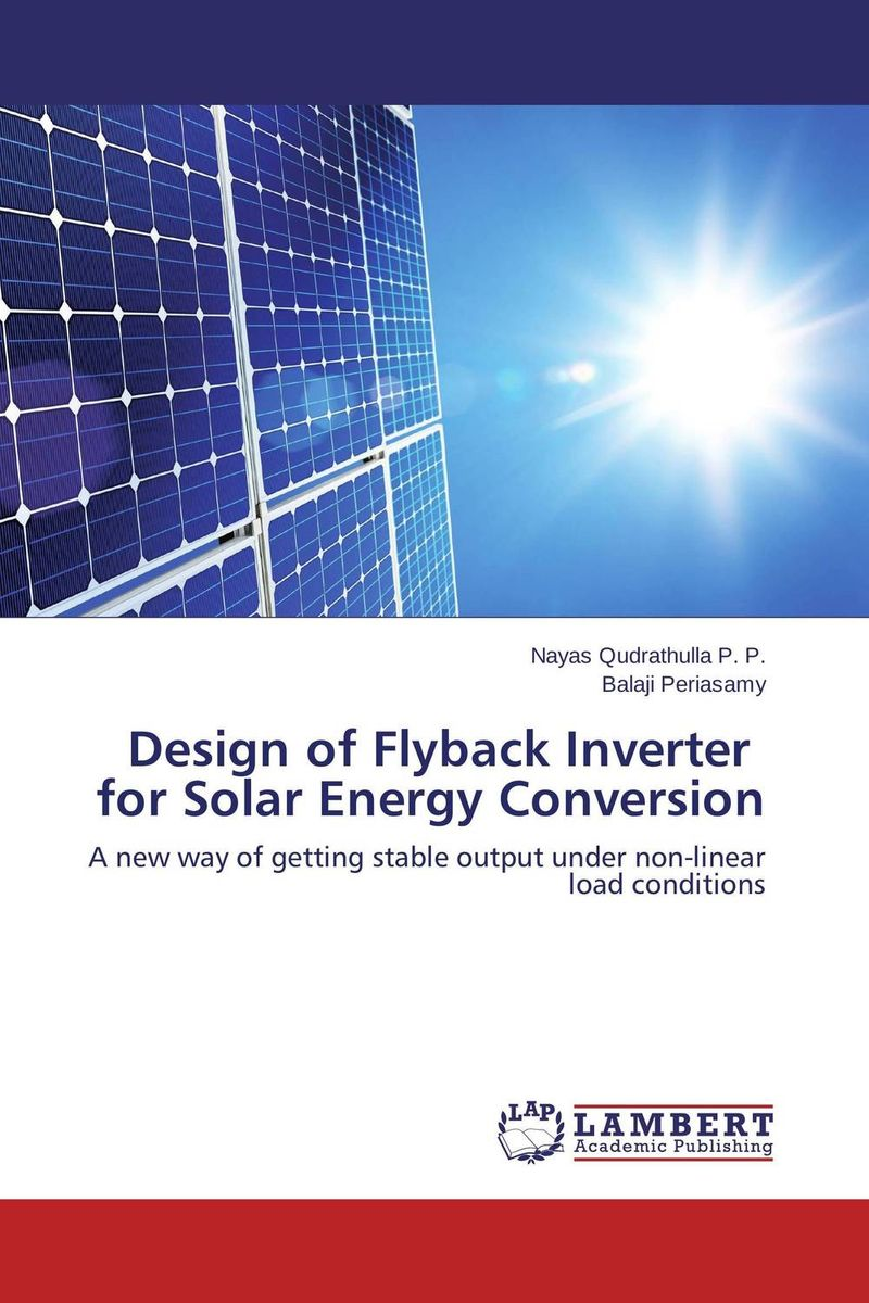 Design of Flyback Inverter   for Solar Energy Conversion tfb3094as fmx43p004r flyback transformer for toshiba rear projection tv