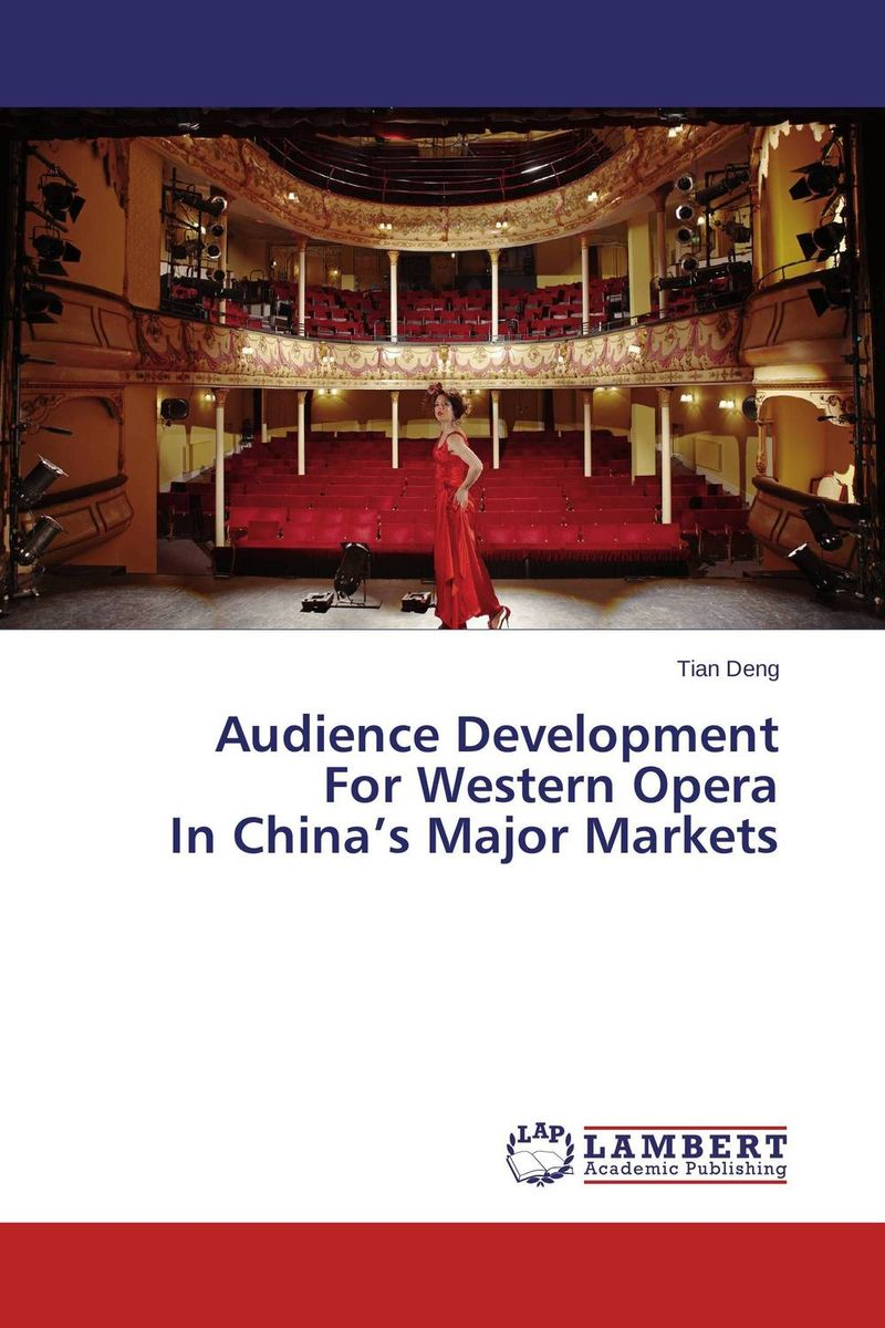 Audience Development For Western Opera In China's Major Markets rv 130 фигурка овца это не я w stratford