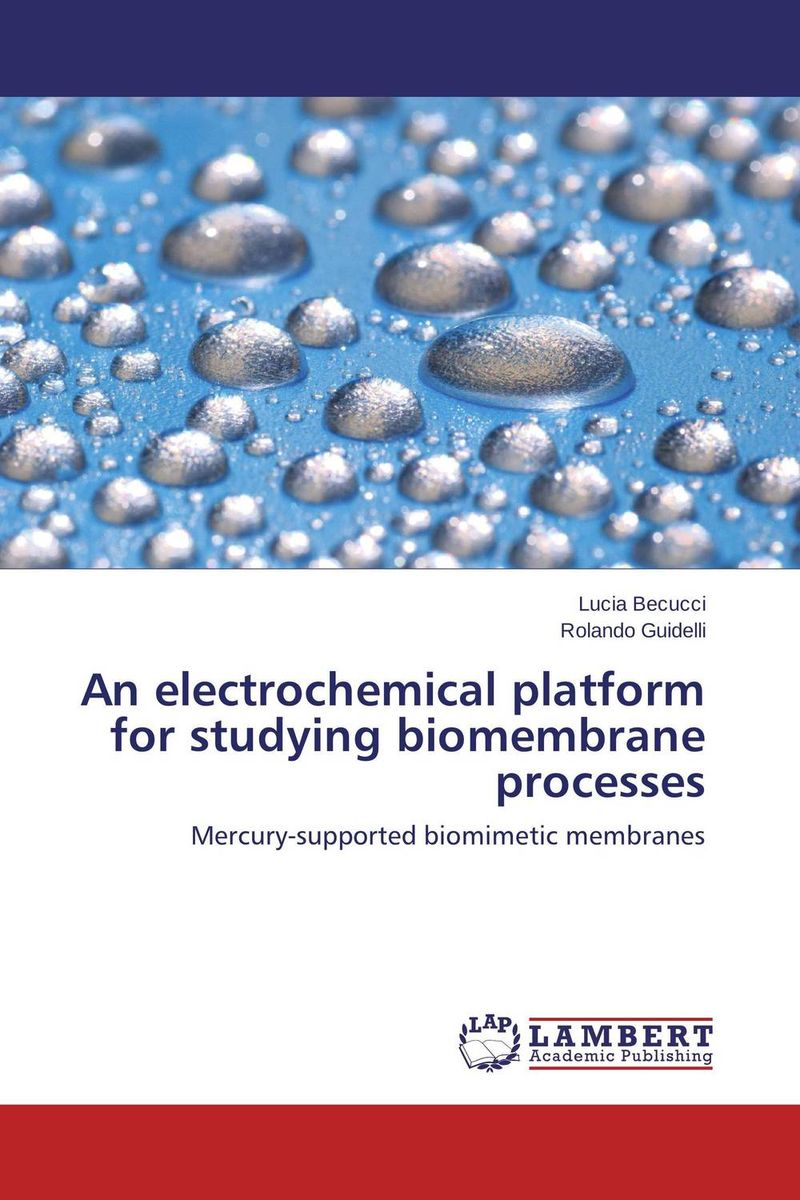 An electrochemical platform for studying biomembrane processes