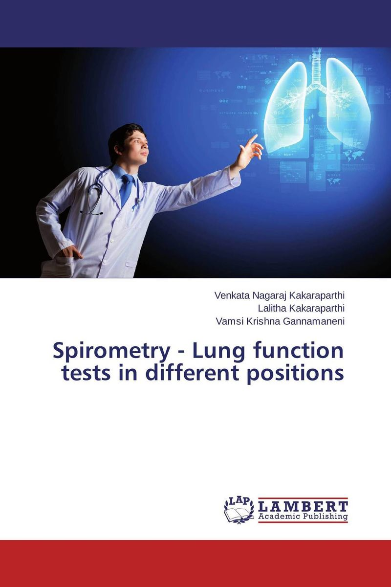 Spirometry - Lung function tests in different positions patriot gp 3510