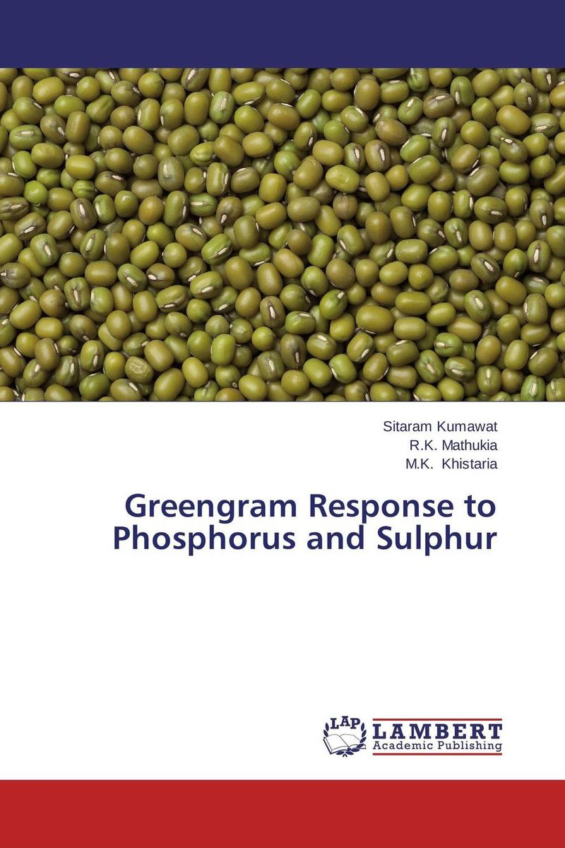 Greengram Response to Phosphorus and Sulphur nify benny and c h sujatha enrichment of sulphur compounds in the cochin estuarine system