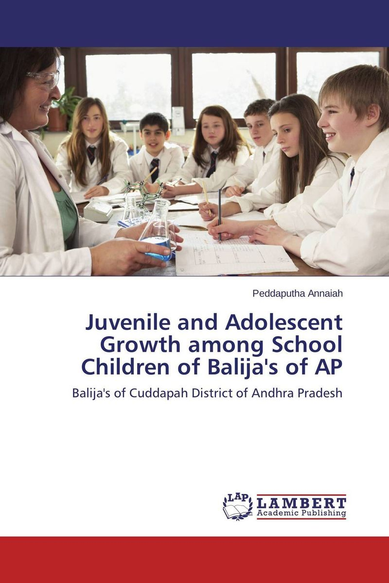 Juvenile and Adolescent Growth among School Children of Balija's of AP adolescent