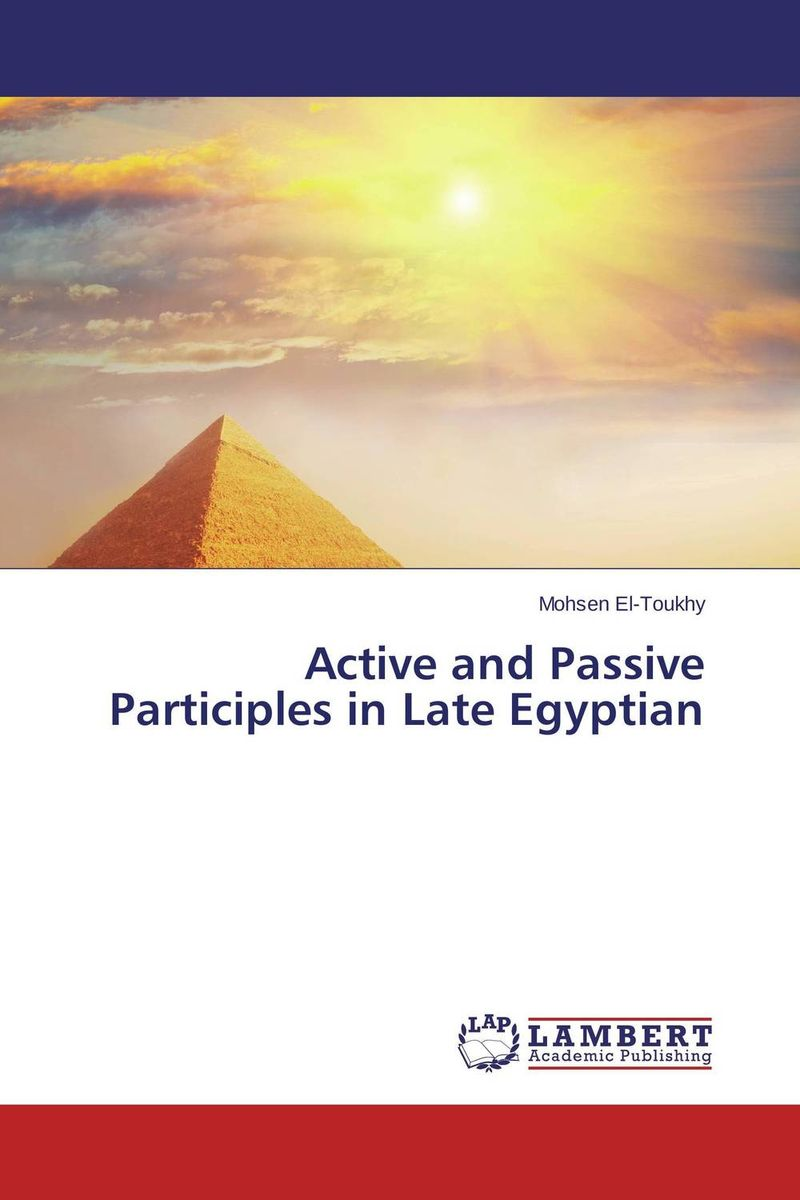 Active and Passive Participles in Late Egyptian from factory new 12cm nvidia tesla k40c k40m k40 active passive mount bracket