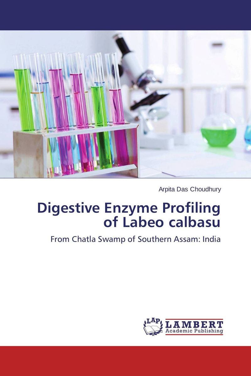 Digestive Enzyme Profiling of Labeo calbasu using enzyme from novozyme