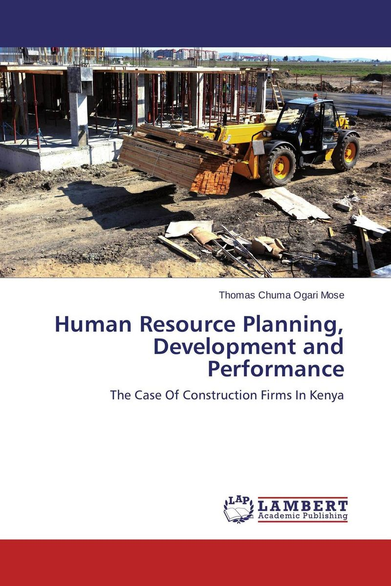 Human Resource Planning, Development and Performance planning for development of water resources of maner river