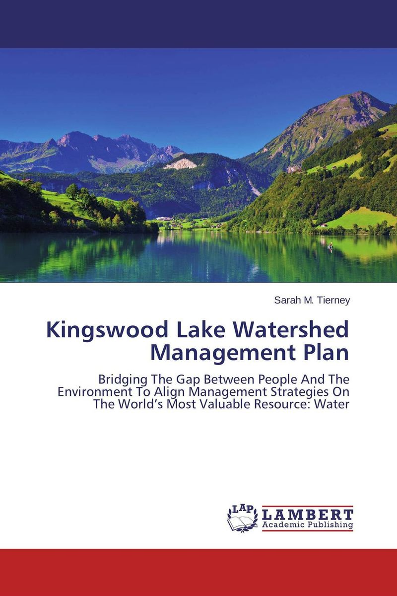 Kingswood Lake Watershed Management Plan a decision support tool for library book inventory management