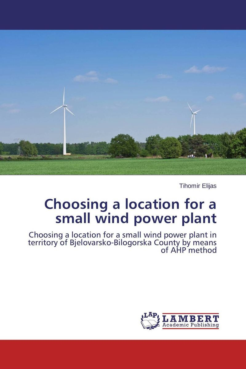 Choosing a location for a small wind power plant development of a computational interface for small hydropower plant