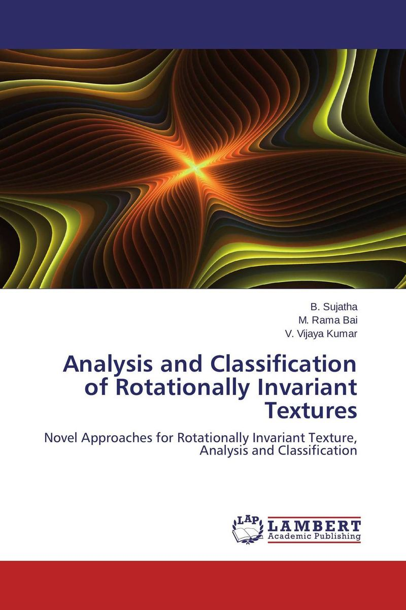 Analysis and Classification of Rotationally Invariant Textures clustering and classification methods used in biosequence analysis