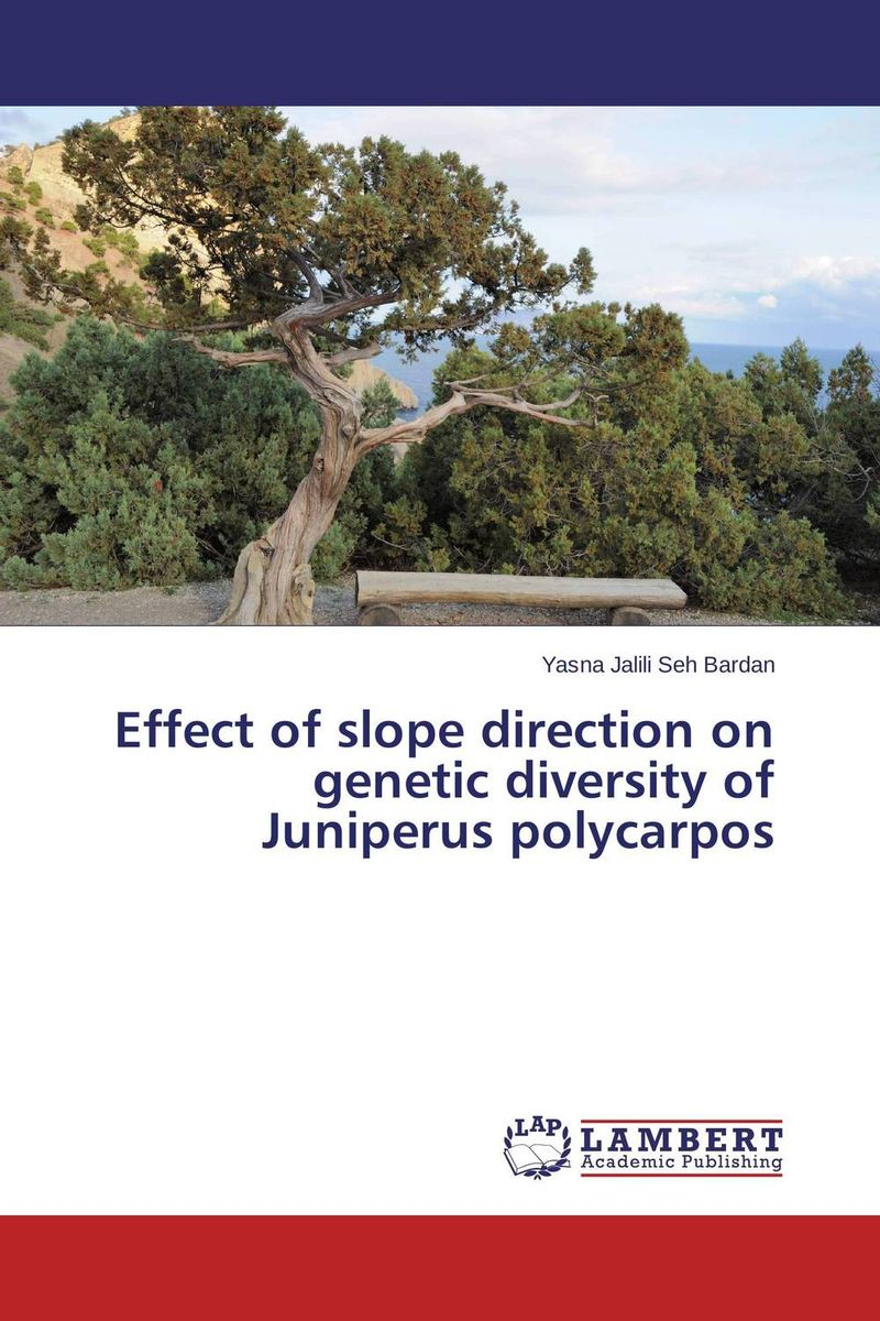 Effect of slope direction on genetic diversity of Juniperus polycarpos orient часы orient dv02003w коллекция orient star