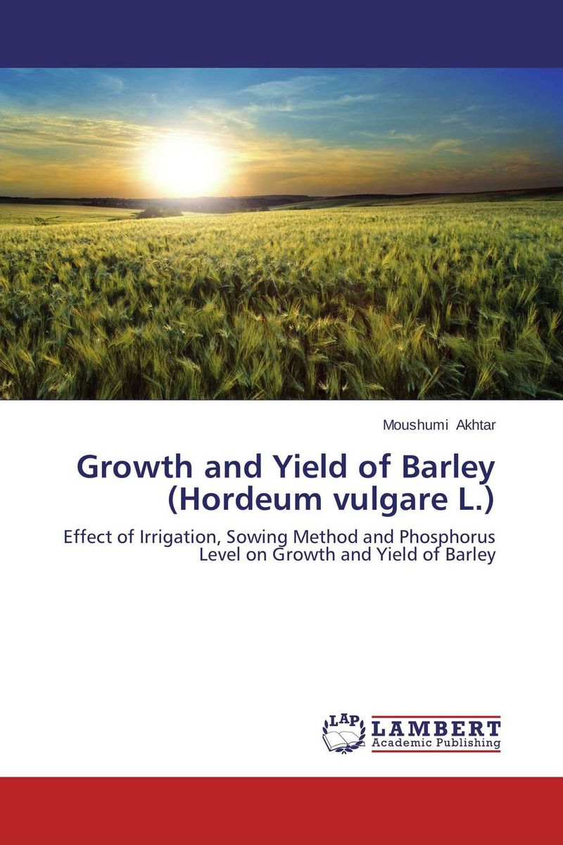 Growth and Yield of Barley (Hordeum vulgare L.) 7 5l small fridge household refrigeration refrigerator car dual heating and cooling box home mini