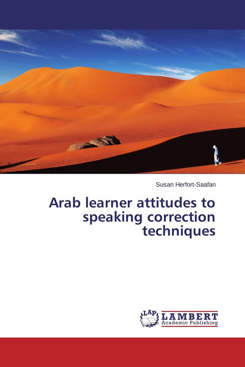 Arab learner attitudes to speaking correction techniques alice a007j br