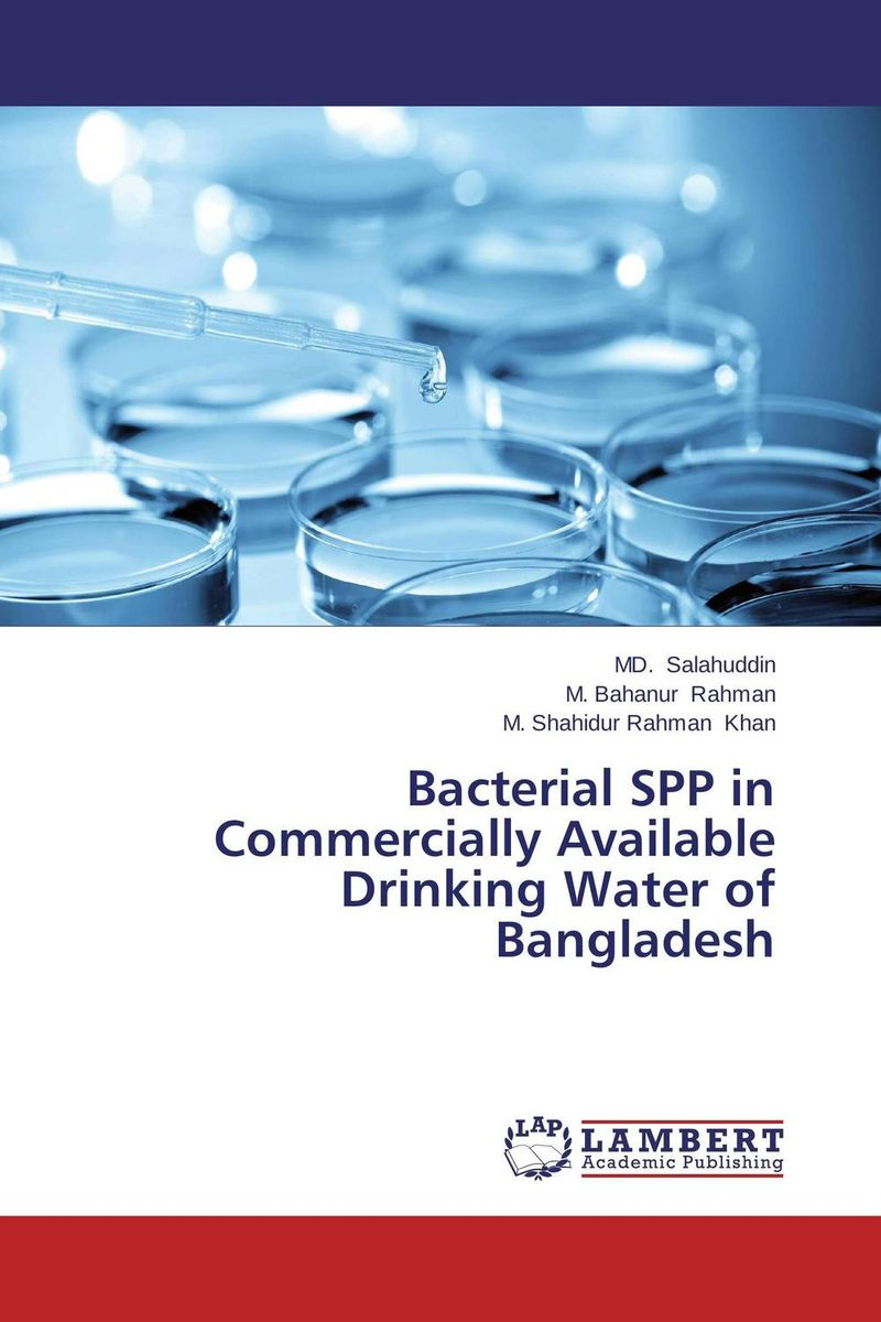 Bacterial SPP in Commercially Available Drinking Water of Bangladesh analysis of bacterial colonization on gypsum casts