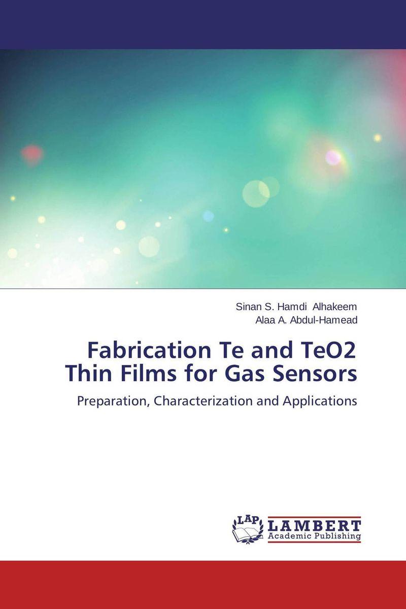 Fabrication Te and TeO2 Thin Films for Gas Sensors vanadium dioxide thin films