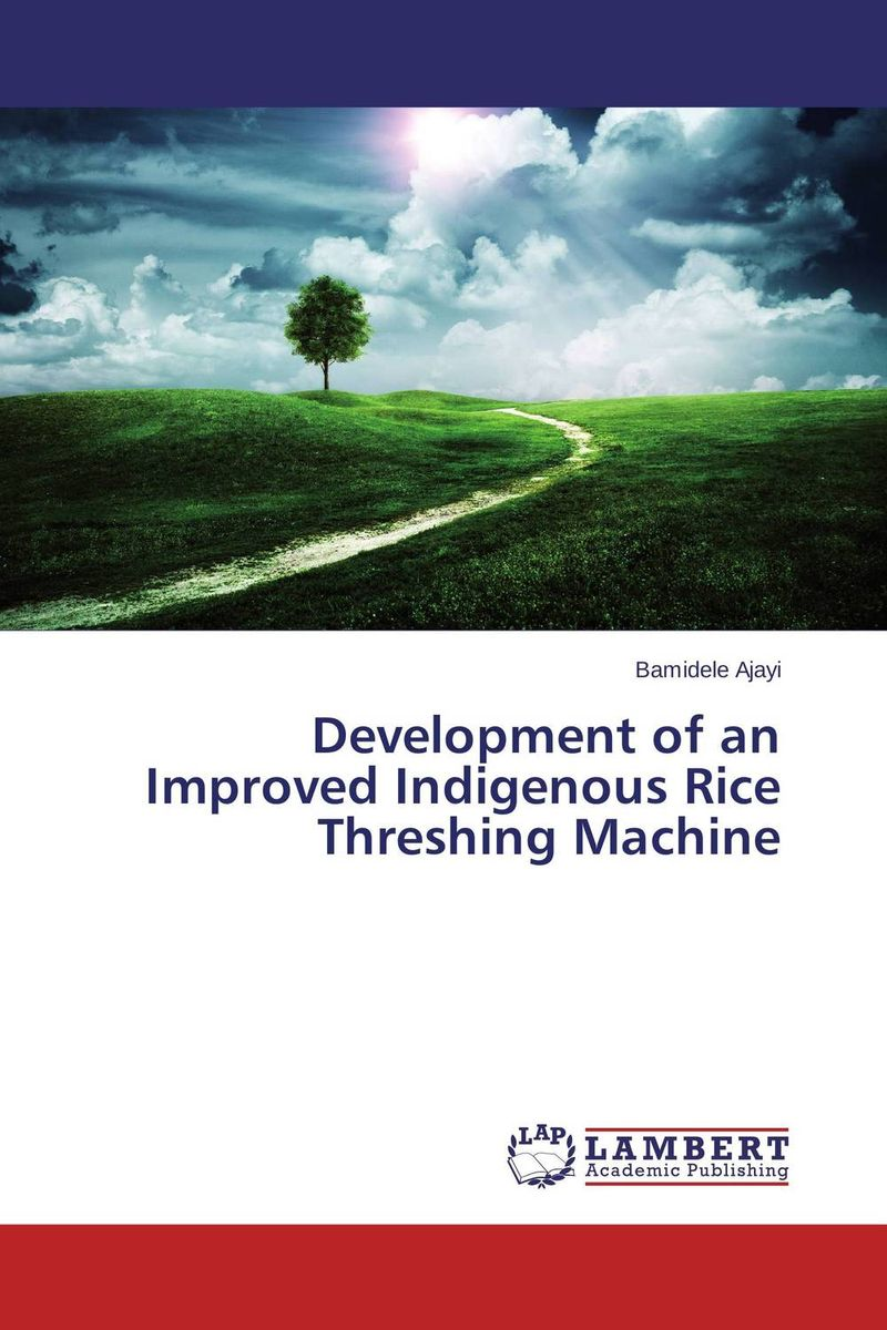 Development of an Improved Indigenous Rice Threshing Machine water table control for rice production in ghana