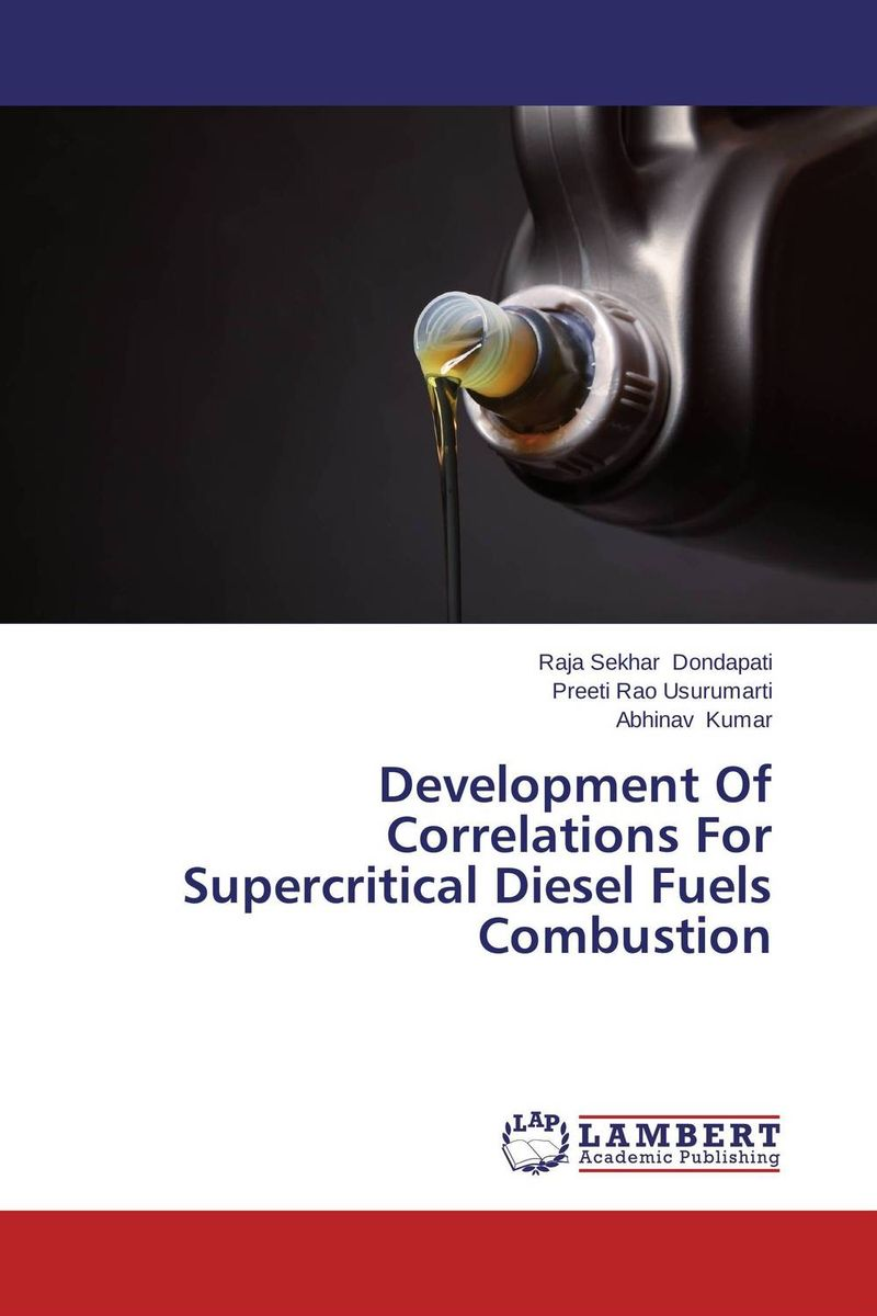 Development Of Correlations For Supercritical Diesel Fuels Combustion evaluation of bio diesel as a fuel for diesel engine